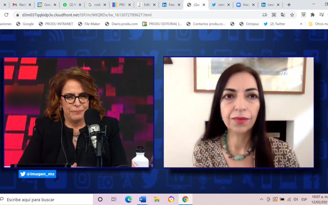 Entrevista a Elena Estavillo con Fernanda Familiar