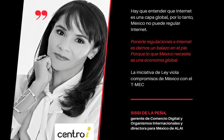 La iniciativa de Ley viola compromisos de México con el T-MEC: Sissi de la Peña