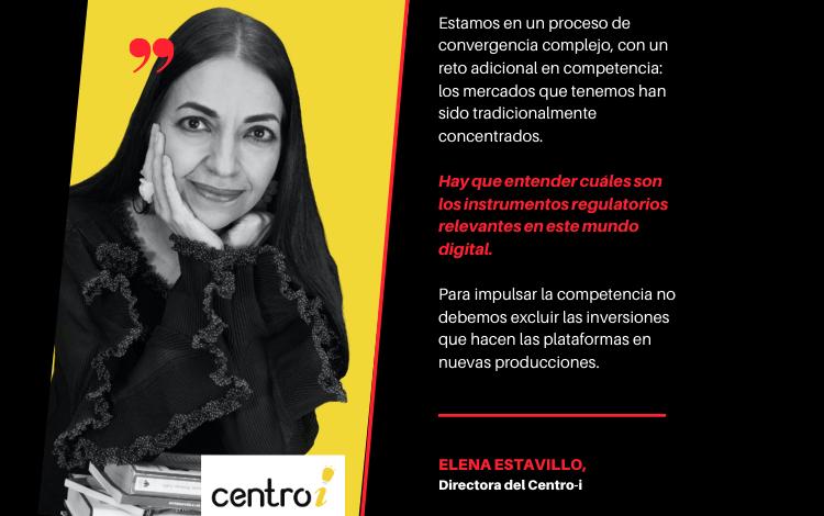 Falta visión de conjunto y regulaciones adecuada al contexto digital: Elena Estavillo